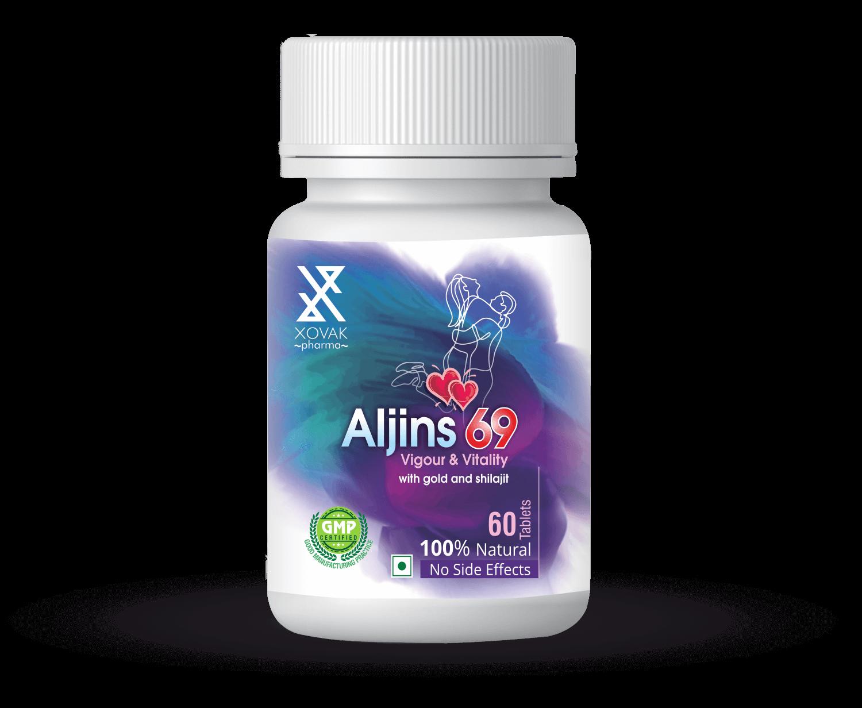 Aljins 69 Tablet For Vigour & Vitality Supplements 8