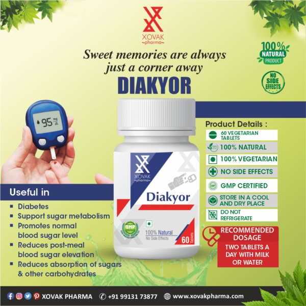 Diakyor & IBkyor Combo For Diabetes With Immunity Booster 6