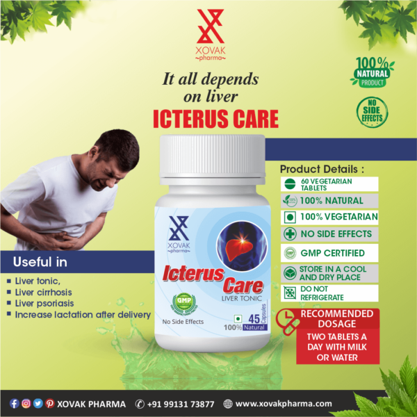 Icterus Care & Vitakyor Combo For Liver Tonic With Multivitamins 6