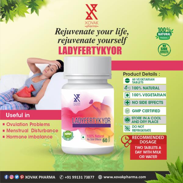 Ladyfertykyor & Vitakyor Combo For Female Infertility With Multivitamins 6
