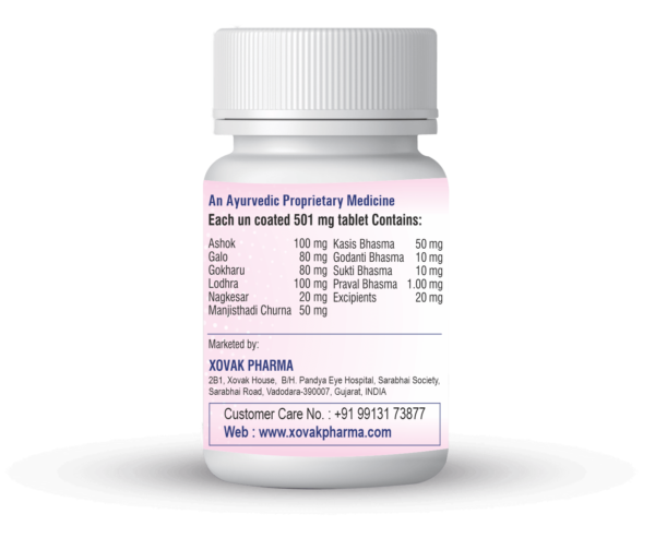 Leucokyor Tablets For Leucorrhea And Other Female Related Problems 2