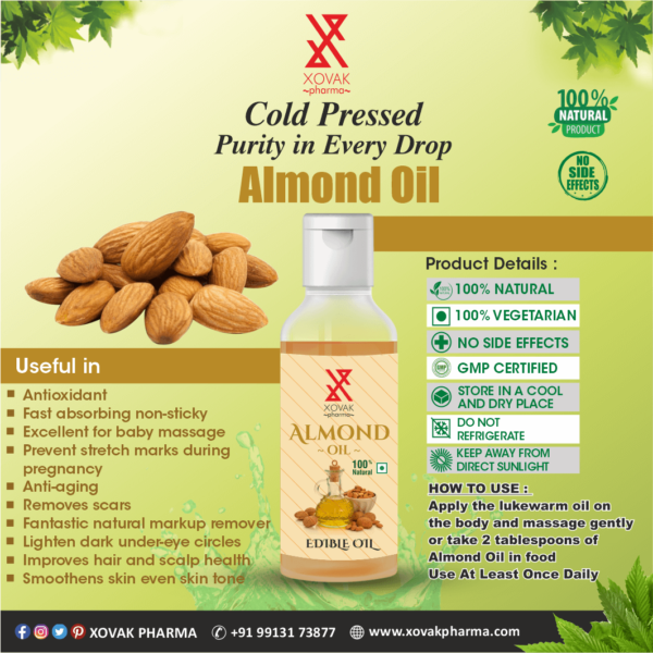 Pure Cold Pressed Almond Oil 5