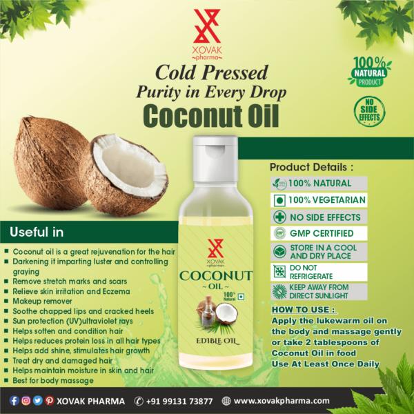 Pure Cold Pressed Coconut Oil 5
