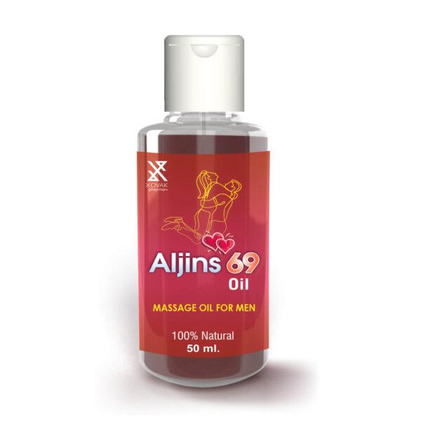 Aljins 69 Tablets & Aljins 69 Oil Combo For Stamina Booster With Enlargement Oil 9