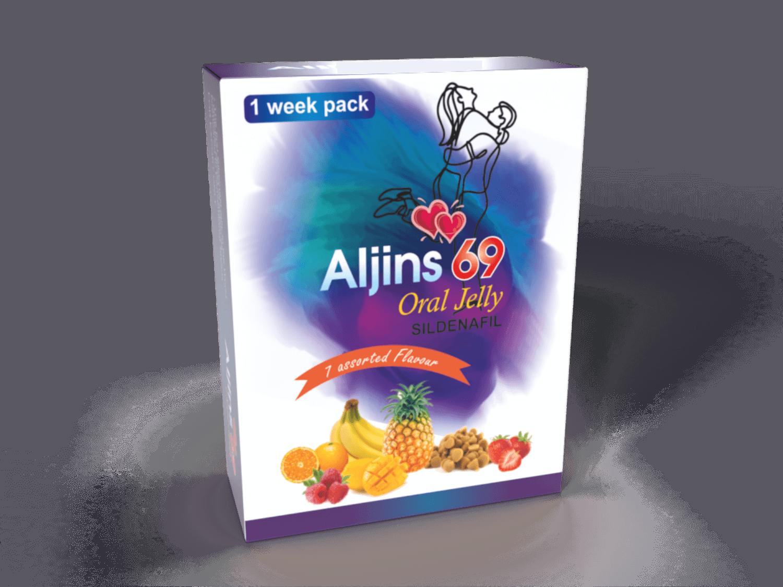 Aljins 69 Oral Jelly Sildenafil For Erection In Erectile Dysfunction In Men 7
