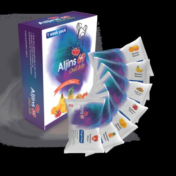 Aljins 69 Oral Jelly Sildenafil For Erection In Erectile Dysfunction In Men 5