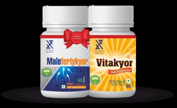 Malefertykyor & Vitakyor Combo For Male Infertility With Multi-Vitamins 4