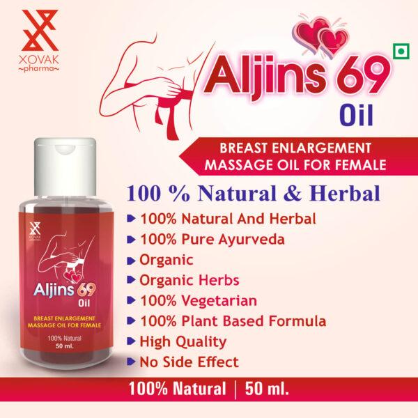Aljins 69 Oil For Female Breast Massage Oil 8