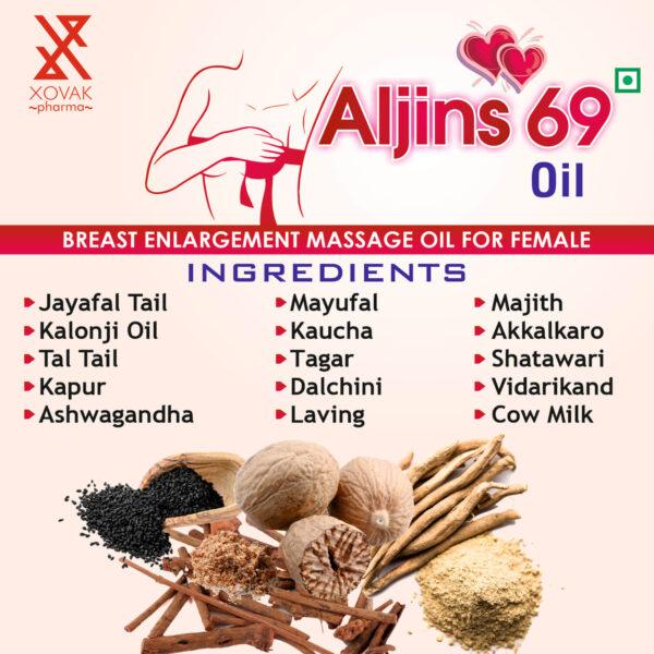 Aljins 69 Oil For Female Breast Massage Oil 9