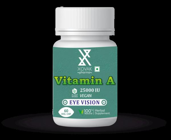 Vitamin A Capsules For Eye Vision, Immune Health, And Brain & Bone Development 4