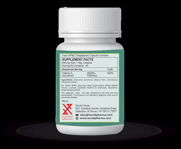 Vitamin A Capsules For Eye Vision, Immune Health, And Brain & Bone Development 5