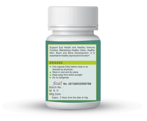Vitamin A Capsules For Eye Vision, Immune Health, And Brain & Bone Development 6
