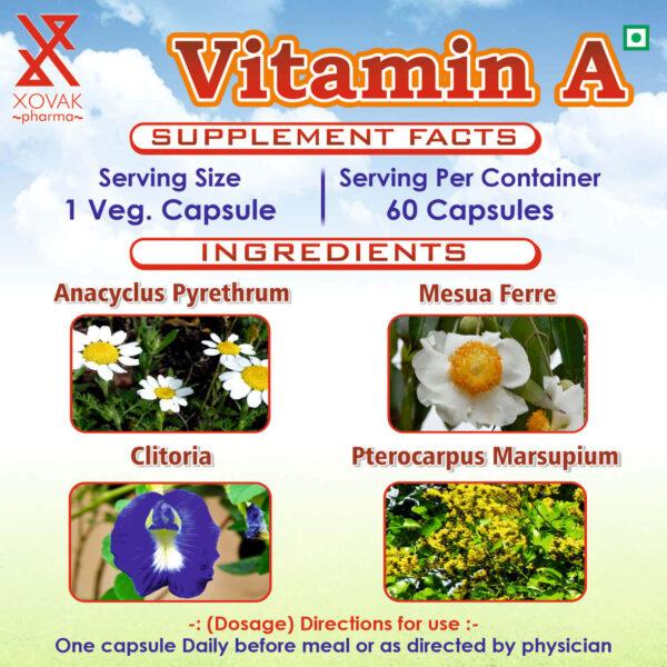 Vitamin A Capsules For Eye Vision, Immune Health, And Brain & Bone Development 9