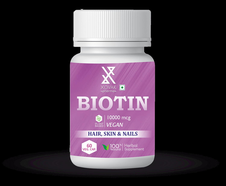 Biotin Capsules For Nails, Hair And Skin Health 11