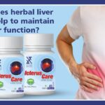 How does herbal liver tonic help to maintain liver function? 1
