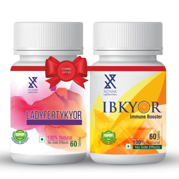 Ladyfertykyor & IBkyor Combo For Female Infertility With Immunity Booster 4