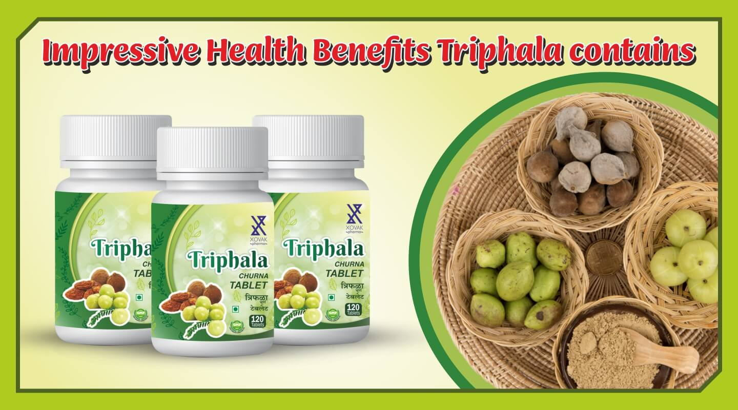 Triphala Churna Tablet Xovak Pharma