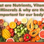 What are Nutrients, Vitamins & Minerals and why are they important for our body? 1