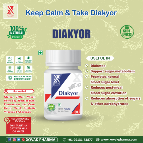 Diakyor Tablets For Diabetes And Support To Insulin Level Control 7