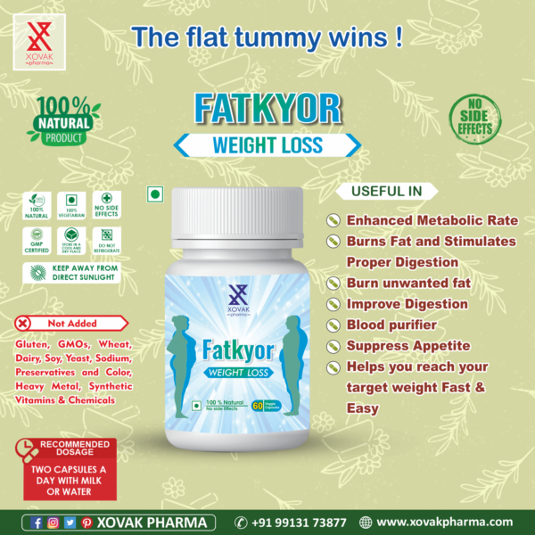 Fatkyor Capsules For Weight Loss And Fat Burner 7