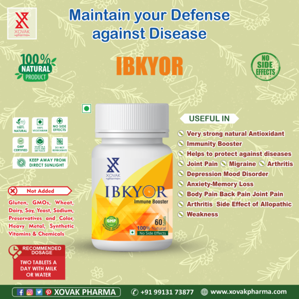 Ladyfertykyor & IBkyor Combo For Female Infertility With Immunity Booster 12