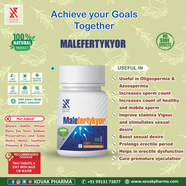 Malefertykyor & Vitakyor Combo For Male Infertility With Multi-Vitamins 8