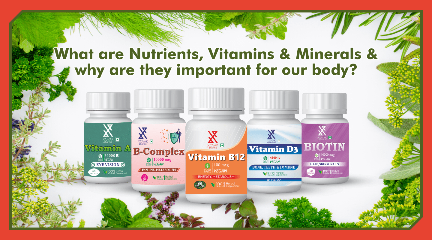 What are Nutrients, Vitamins & Minerals and why are they important for our body? 4